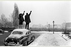 Le Mur de Berlin, Noël 1961. Léon Herschritt.