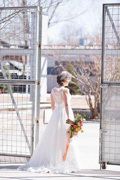 Jess & Josh Wed At The Wychwood Barns | The Wedding Co.