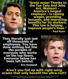 Wal-Mart is closing 60 stores and laying off thousands of people... this is how they dealt w/tR ump Repukkkes huge Tax gift for RICH Moochers!!