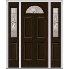 Front Doors Colors That Look Good With Grey Siding Storm Door Looks And I M Thinking About