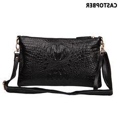 29.20$  Buy here - https://alitems.com/g/1e8d114494b01f4c715516525dc3e8/?i=5&ulp=https%3A%2F%2Fwww.aliexpress.com%2Fitem%2FFashion-Leather-Handbags-Women-2013-Vintage-Women-s-Leather-Handbags-Clutches-Messenger-Bags-Designer-Genuine-Leather%2F1215301457.html - Fashion Women Messenger Bag Handbag Split Leather Cowhide Crocodile Pattern Shoulder Bag Day Clutches Famous Brands Ladies Purse 29.20$