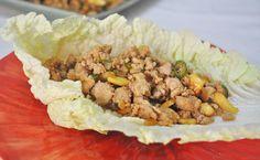 Minced Chicken Lettuce Wraps Recipe | Mareena's Recipe Collections