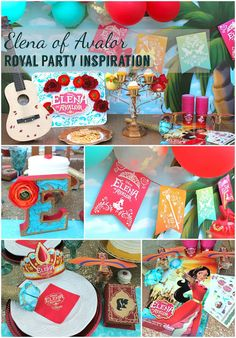 """LAURA'S little PARTY: Disney Elena of Avalor 