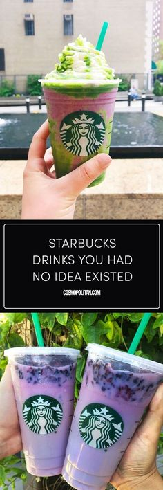 Starbucks Secret Menu Drinks - 20 Secret Starbucks Hacks