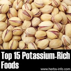❤ Top 15 Potassium Rich Foods ❤