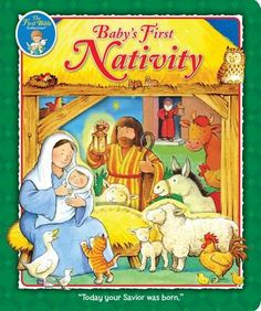 Baby's First Nativity - Peter Stevenson Journey To Bethlehem, T Baby, Kids Hands, A Christmas Story, Nativity, Activities For Kids, This Book, Princess Zelda, Children