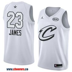 b855e47a3 men s western conference cleveland cavaliers  23 lebron james white 2018  nba all-star jersey