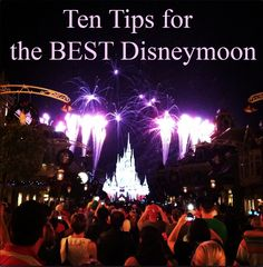 """When I first mentioned to family and friends that we were planning on going to Disney World for our honeymoon, they were incredulous. """"Why would you want to be around hoards of people and scr… Disney World Honeymoon, Disney Cruise, Disney Vacations, Disney Trips, Walt Disney World, Disney Travel, Family Vacations, Disney On A Budget, Disney Planning"""