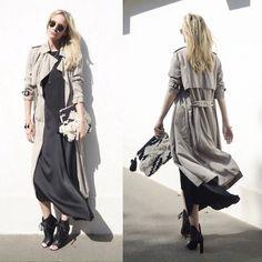 Emma Easton - Mango Pochette, Weekday Bracelet + Collier, Zara Trench, Manning Cartell Boots - VERSATILE