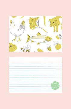 Farm & Fable Recipe Card