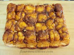 Butterscotch sticky buns gooseberry