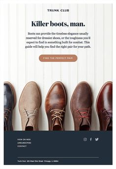 The Best Email Designs in the Universe (that came into my inbox) - Sales Email - Ideas of Sales Email - Really Good Emails The Best Email Designs in the Universe (that came into my inbox) Edm Template, Email Templates, Mobiles, Email Layout, Email Design Inspiration, Email Marketing Design, Dressy Shoes, Best Email, Newsletter Design