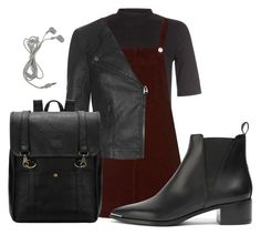 """""""Untitled #33"""" by exc4libur on Polyvore featuring New Look, Topshop and Acne Studios"""