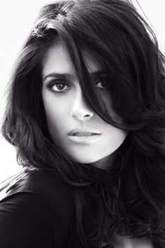 Salma Hayek Photos by Alexi Lubomirski for Vogue Germany