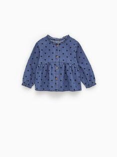 c9ad6967 Image 1 of POLKA-DOT SHIRT from Zara Zara Kids, Baby Girl Fashion,