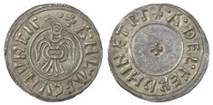 A 'Raven' penny of Anlaf Guthfrithsson, a short-lived ruler (939-41) of a short-lived Viking kingdom centred on York.
