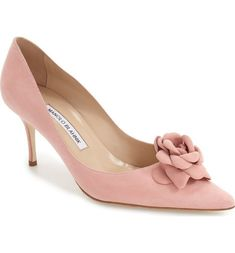 Main Image - Manolo Blahnik 'Camelia' Pump (Women) #manoloblahnikheelsproducts #manoloblahnikheelszapatos
