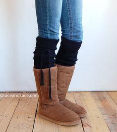 alpine thigh high slouch socks