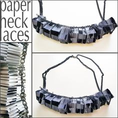 Another Paper necklaces.