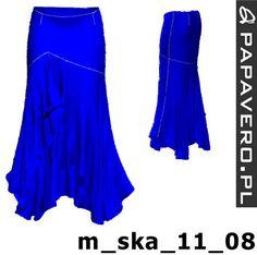 belly dance skirt pattern
