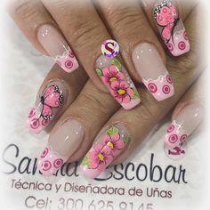 Publicación de Instagram de Sandra Escobar • 4 de Nov de 2017 a las 4:23 UTC Nails & Co, Chic Nails, Fun Nails, Pretty Nail Art, Cute Nail Art, Beautiful Nail Art, Fabulous Nails, Gorgeous Nails, Mobile Nails