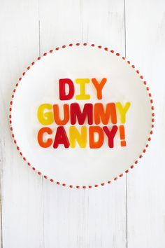 Easy DIY gummy candy