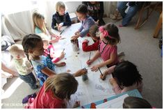 solar system party | Solar System Birthday Party