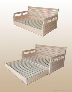 BOND kanapéágy - kihúzható Modular Furniture, Furniture Design, Wooden Cabins, Banquette, Sofa Bed, Interior Design, Bedroom, Crafts, House