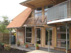 Our Michelmersh Light Vintage roof tiles combined with our Hampshire Stock ATR bricks for Applegarth in Hampshire Clay Roof Tiles, Hampshire, Bricks, Outdoor Decor, Vintage, Home Decor, Clay Tiles, Decoration Home, Hampshire Pig