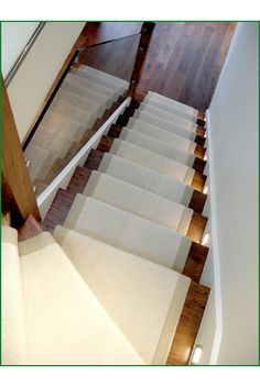 Walnut Glass Staircase