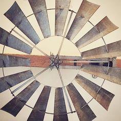 Windmill wheel ceiling fan kit components 6ft diameter w o electric motor home remodel - Windmill ceiling fan for sale ...