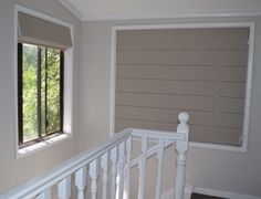 Roman Blinds in small areas work well