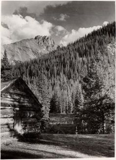 Sawtooth Range, Cameron Pass. 1939. UHPC, University Archive, Archives and Special Collections, CSU, Fort Collins, CO