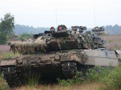 German Army (Bundeswehr) MBT Leopard 2 A6