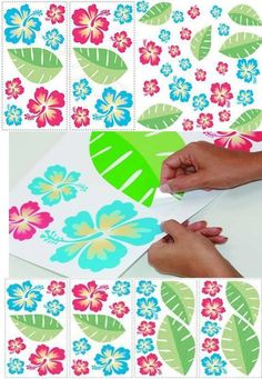 #stickerflower Plastic Cutting Board, Stickers, Flowers, Cards, Design, Maps, Royal Icing Flowers, Playing Cards