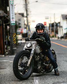 Harley Shovelhead owner- @ringyou57_1 Pic by - @_jaymac_ #Bobberheads #NewYorkTrash #ChopperShit #Bobber #Chopper #SupportYourLocal by bobberheads