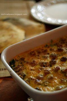 Mollica di Pane: Carchiola con cicorie al forno Pane, Cheeseburger Chowder, Soup, Oven, Soups