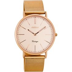 OOZOO Timepieces Vintage Rose Gold Metal Strap C7399 < ΓΥΝΑΙΚΕΙΑ ΡΟΛΟΓΙΑ | AmorAmor