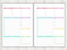 Staying On Top Of The Little Things And  More Printables