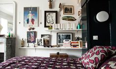 Décoration Murale Chambre Paris Appartement Alix Thomsen