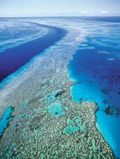 Great Barrier Reef: Die Korallenbedeckung des berühmten Riffs vor Australiens...