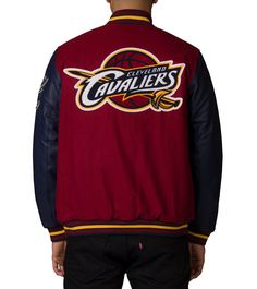ace39505cf4f Essentials Cleveland Cavaliers Wool Jacket Cleveland