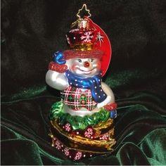 Snowman Surprise - Personalized Boy Ornament or Girl Ornament