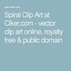Spiral Clip Art at Clker.com - vector clip art online, royalty free & public domain