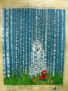 Little Red Riding Hood - Le petit Chaperon Rouge - Romina Perez