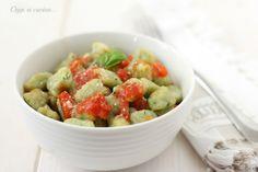 Gnocchi di zucchine al pomodoro
