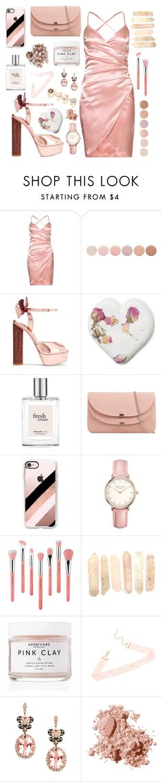 """Don't Tell 'Em"" by anishagarner ❤ liked on Polyvore featuring Deborah Lippmann, Sophia Webster, philosophy, Casetify, Topshop, Bdellium Tools, Herbivore, Effy Jewelry, Bobbi Brown Cosmetics and Forever 21"