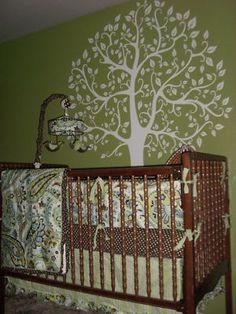 Wall Decal 6 FT. WHITE TREE Deco Art Sticker Mural on eBay!