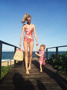 best swimsuits and bikinis caroline trentini son bento jacob Caroline Trentini, Vogue Us, Best Swimsuits, Striped Jersey, Silhouette, Lingerie, Julia, Swimwear Fashion, Summer Of Love