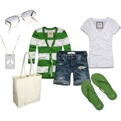 I love green! favorite color :) And cardigan sweaters are the best too!!